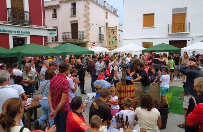El dissabte 2 de setembre Xaló celebra la seua tradició vinícola en el Mercat de la Verema