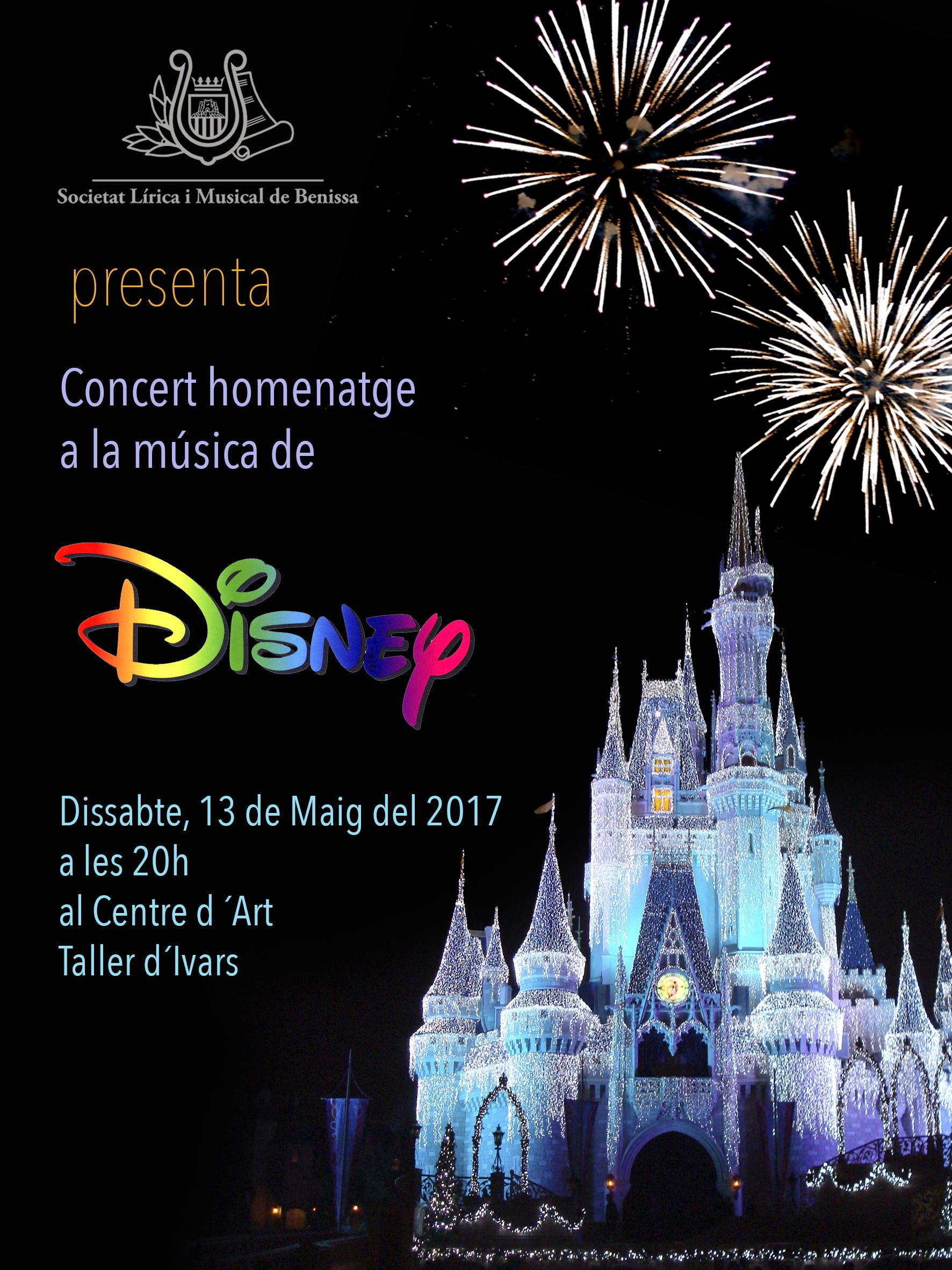 Cartell concert disney follet