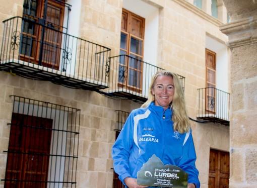 Encarna Cardona Gómez vencedora de la Lurbel Aitana
