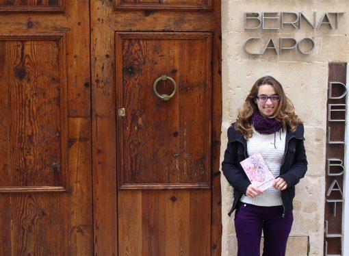 Lidia Santacreu Ferrà escribe su primer libro