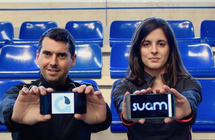 Cecilia Salvà y Juanvi Cabrera crean la aplicación Suam Sport