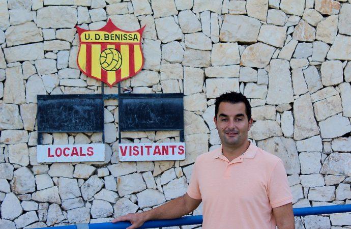 Miguel García de la Reina, el nuevo entrenador de la Unión Deportiva Benissa