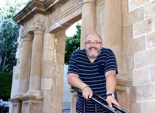 José David Ivars Pellicer pregonero de los Moros y Cristianos de Benissa