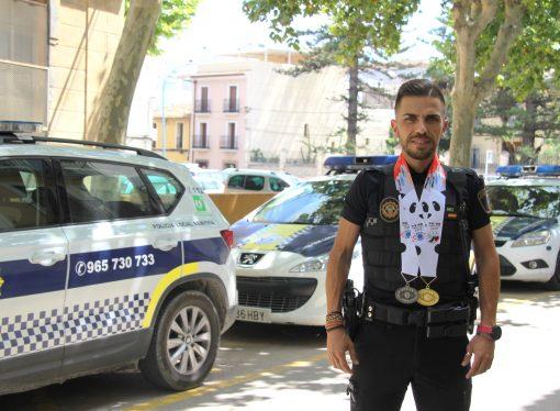 El policía local de Benissa Antonio Morant se proclama campeón mundial de Policías y Bomberos