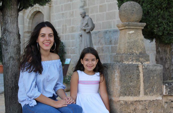 Laura Balaguer Mancheño y Nerea Salvà Pont dos chicas con suerte