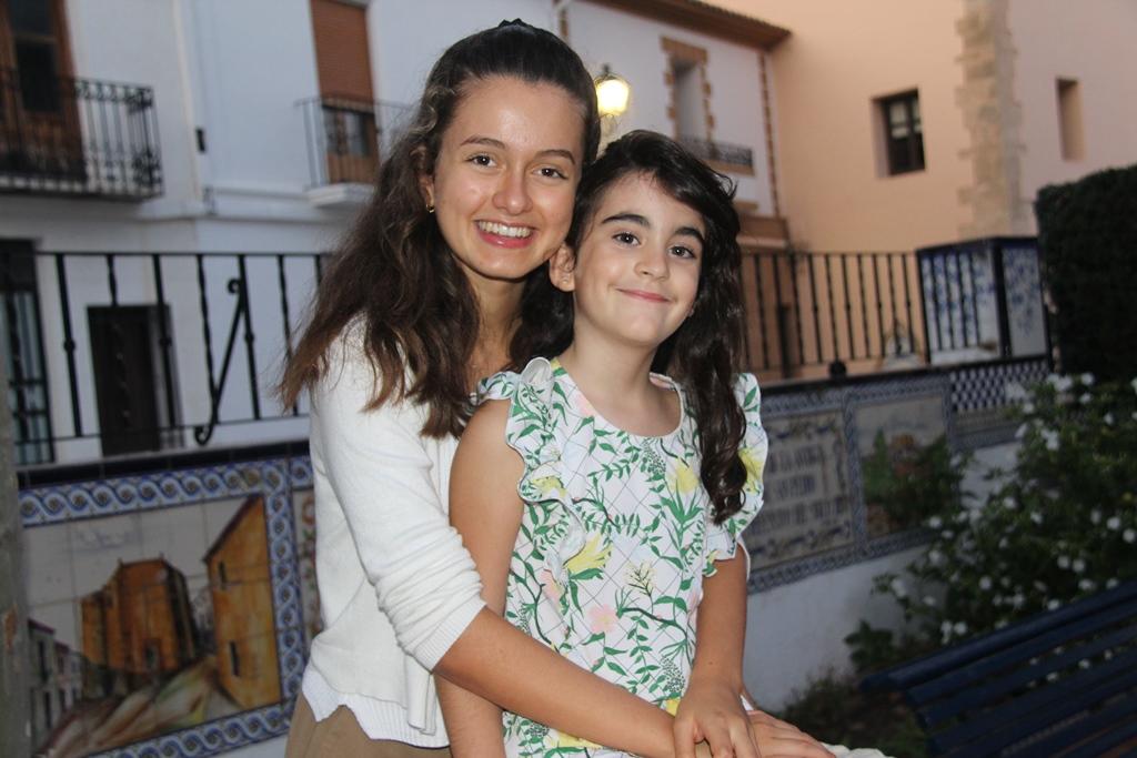 Itziar Perales Suárez y Emma Cozens Hardy Vila