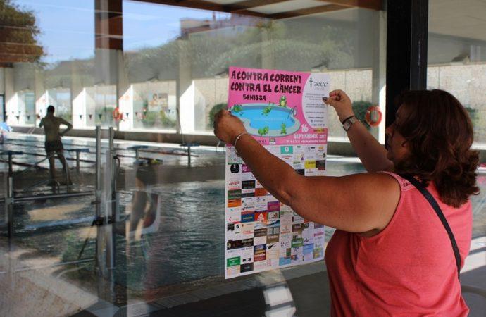 """La Junta Local de la AECC  de Benissa organiza """"A contracorrent contra el Càncer"""""""