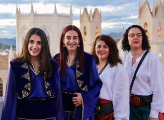 Mª del Mar Berenguer y Marga Torregrosa, Capitanas de los Moros y Cristianos de Benissa 2020