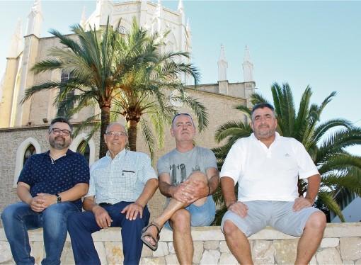 Jaime Grimalt y  Javier Piera, Capitanes de los Moros y Cristianos de Benissa 2017