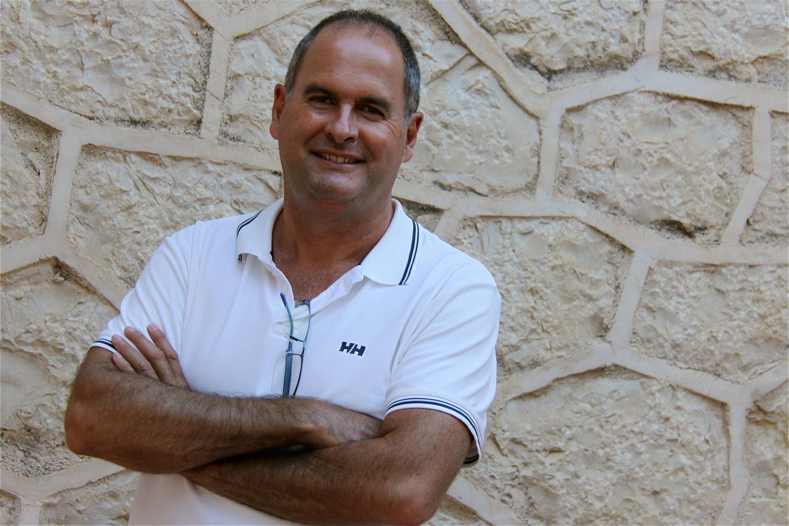 Ximo Nadal Presidente de l'Associació de Moros i Cristians de Benissa