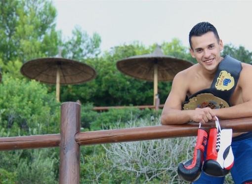 El senijero Marcos Carreño Jaén, Campeón de España de Taekwondo Pro