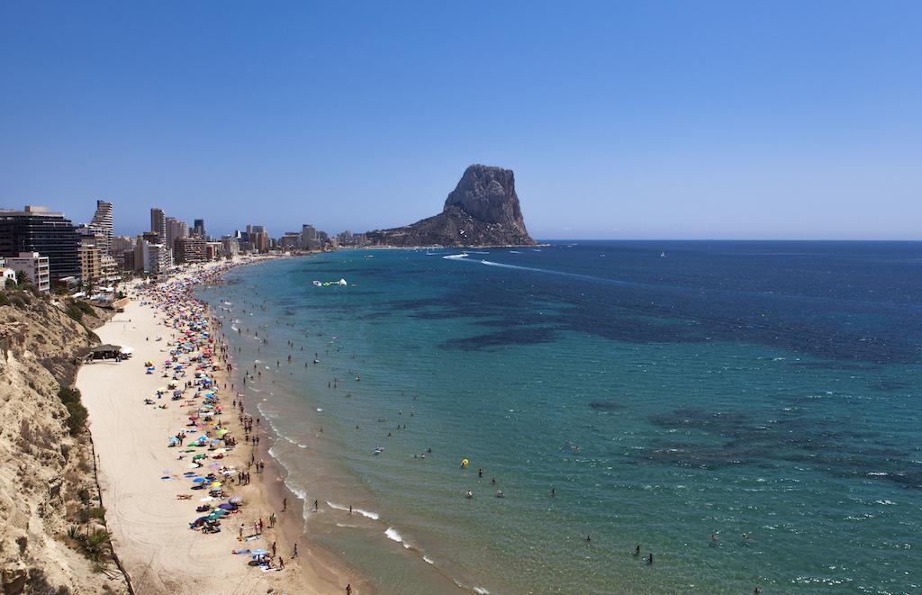 playas más bonitas de Calp