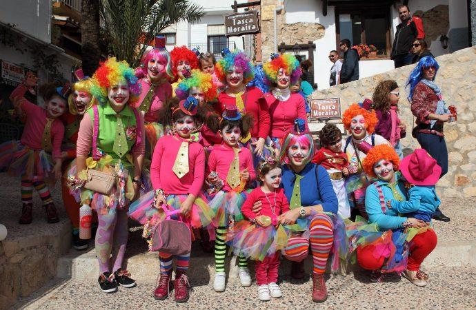 Moraira lista para celebrar el Carnaval
