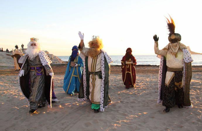 Los Reyes Magos llegan a la Marina Alta con todas las medidas de seguridad