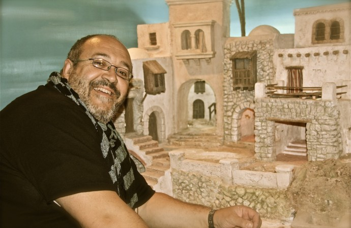 José David Ivars, un apasionado del mundo de los belenes