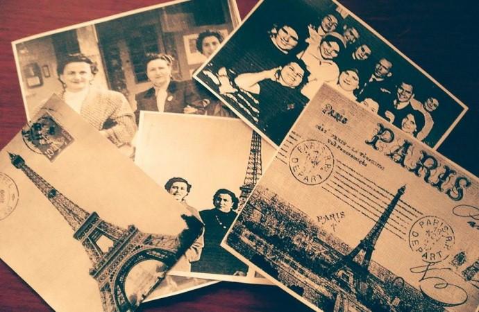 """Senija viaja a los años 60 a través de una muestra de fotos de """"Les Dones de Senija a París"""""""