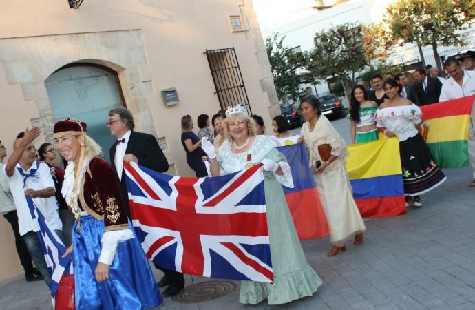 Todo preparado para el 8º Festival Multicultural de Benissa