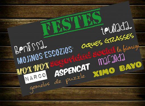 Benissa y Teulada nos presentan su cartel de fiestas