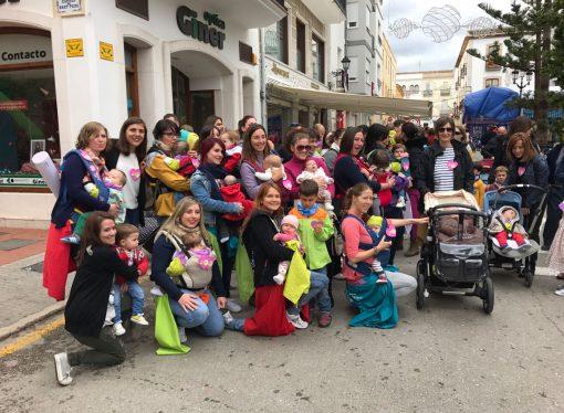 Flashmob para promover la lactancia materna