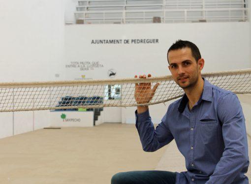 El reconocido pilotari Pere Ribes García será el pregonero de las fiestas de Pedreguer