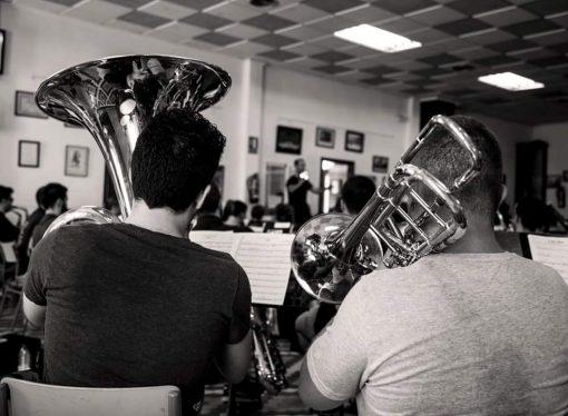 La Joven Banda Sinfónica de la FSMCV bajo la batuta de Pere Vicalet