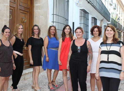 La Junta Directiva de las fiestas de Benissa 2018 formada solo por mujeres