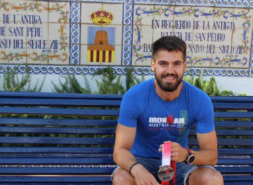 Antonio Barrientos Leal sigue entrenando tras su paso por el Ironman de Austria