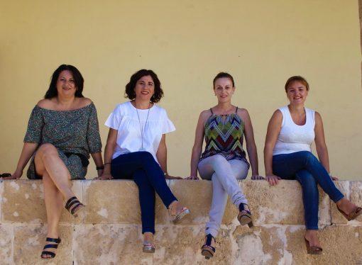 Las mujeres también forman la Junta Directiva de las fiestas de Teulada