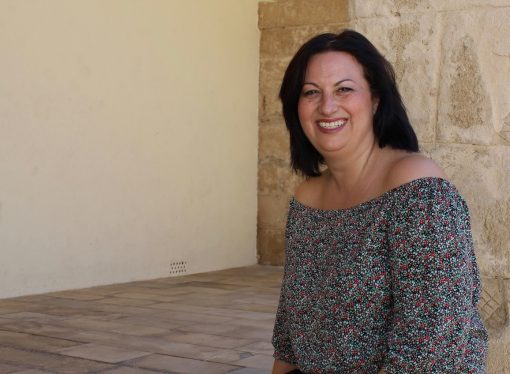 Isabel Buigues Cano, presidenta de las Fiestas de Teulada 2018