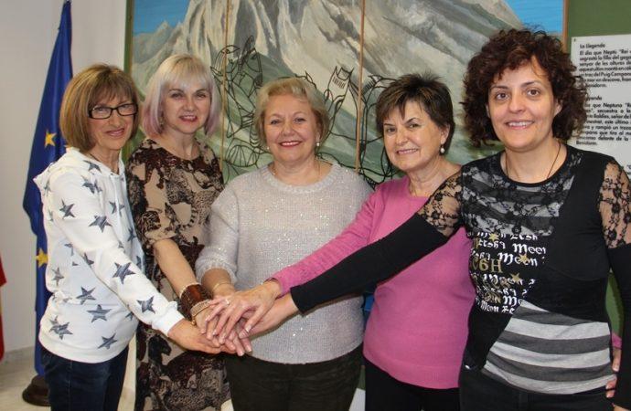 Las Cuatro Mujeres de Paleta y Pincel a la conquista de Finestrat