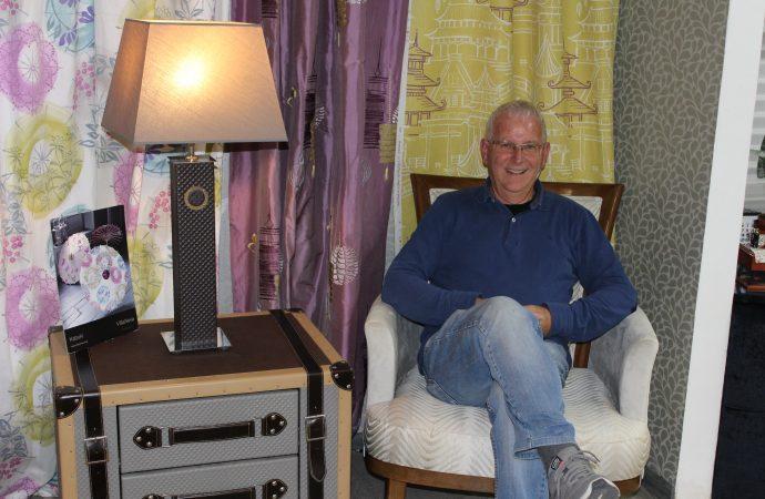 Felipe Sendra, pasión por el arte de tapizar
