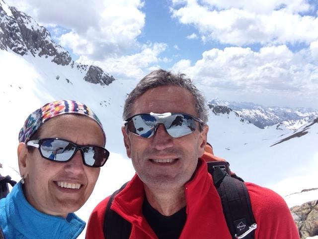 Carolina Trápaga y José Villegas