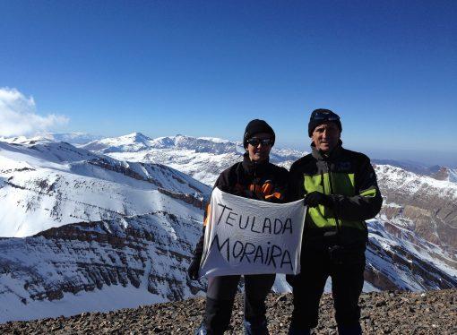 Carolina Trápaga y José Villegas, intrépidos montañeros
