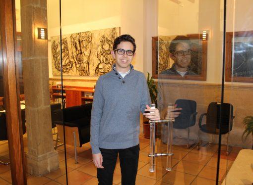 El benissero Mateo Barbaglia Tárrega, becado por la Fundación Amancio Ortega
