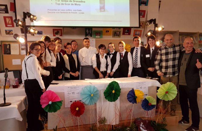 """Una alumna del IES de Sant Vicent del Raspeig se alza con el """"I Premio Coctelería María Ibars"""""""