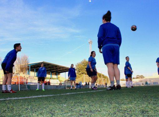 Entrenamos con las campeonas de liga, las chicas de la U.D Benissa
