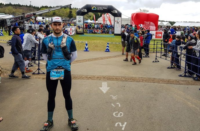 Santi Ferrando obligado a abandonar el Ultra Trail Monte Fuji en Japón