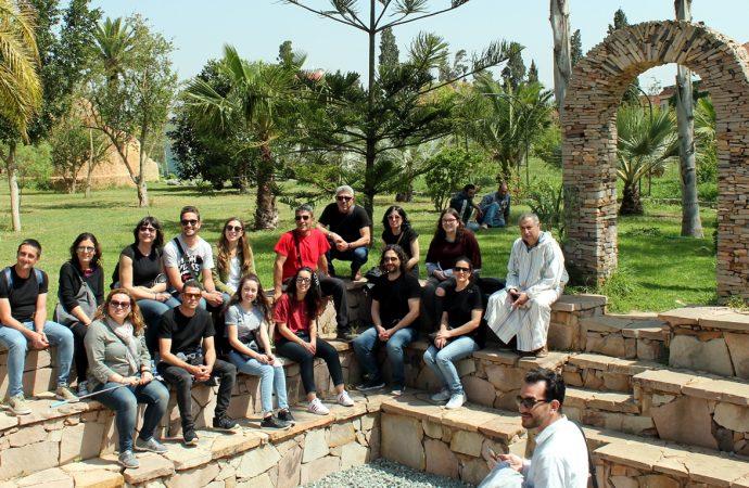La Colla el Falçó de Teulada viatja a Mostaganem