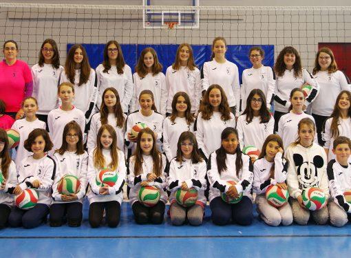 Las chicas de las Escuelas Deportivas Municipales de Voleibol Benissa competirán en el Interprovincial