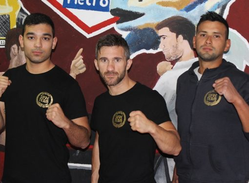 Jhon Alejandro Gallo y Braian Adams debutan en Mix Fight en Benidorm