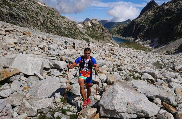 Germán Durillo culmina la Gran Trail Vuelta al Aneto-Posets