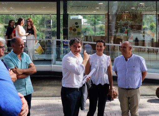 La Mancomunitat Vall de Pop inaugura la seua nova oficina a Xaló