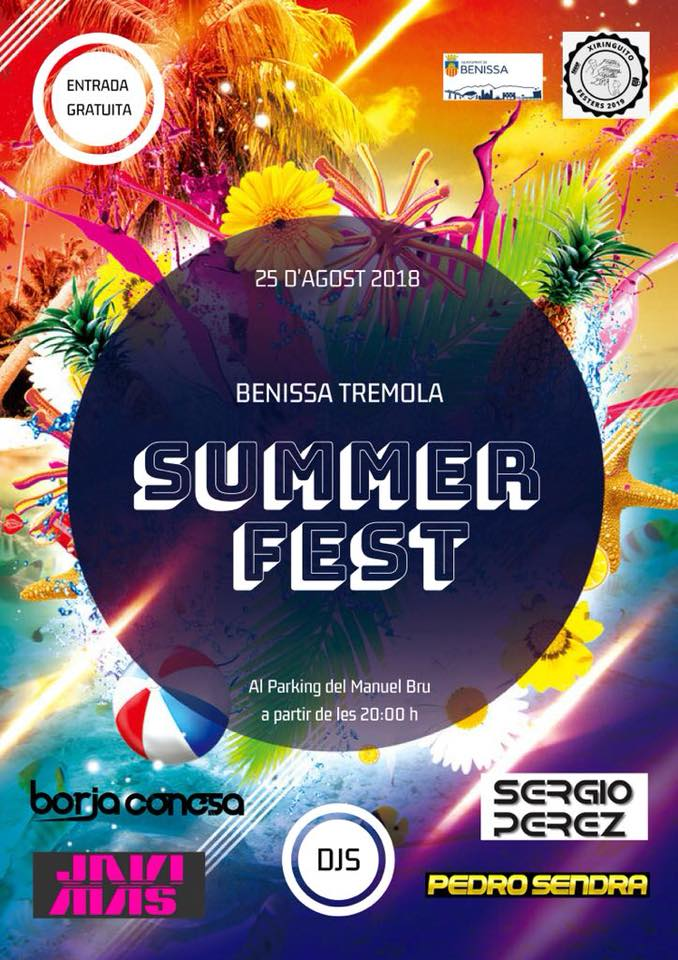 Summer Fest Benissa