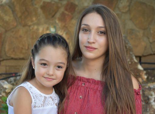 Ellas, Naiara Peciña y Noelia Expósito, protagonistas de las fiestas de Teulada 2019