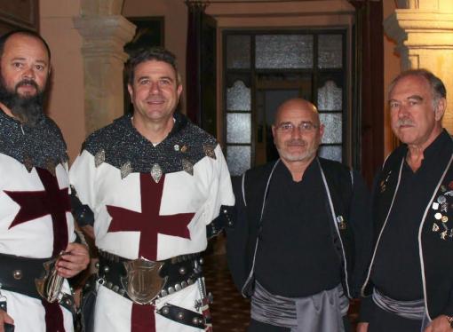 Vicente Gázquez y Ximo Cabrera, Capitanes de las fiestas de Moros y Cristianos de Benissa 2019