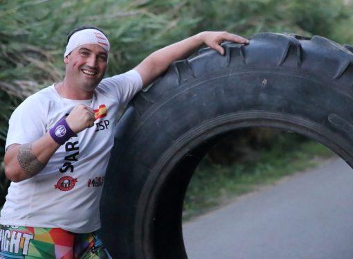 El espartano de Teulada, Ángel Monfort, a la conquista del campeonato del mundo en Grecia