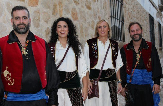 Miriam, Marga y José completan la nueva Junta Directiva de l´Associació de Moros i Cristians de Benissa