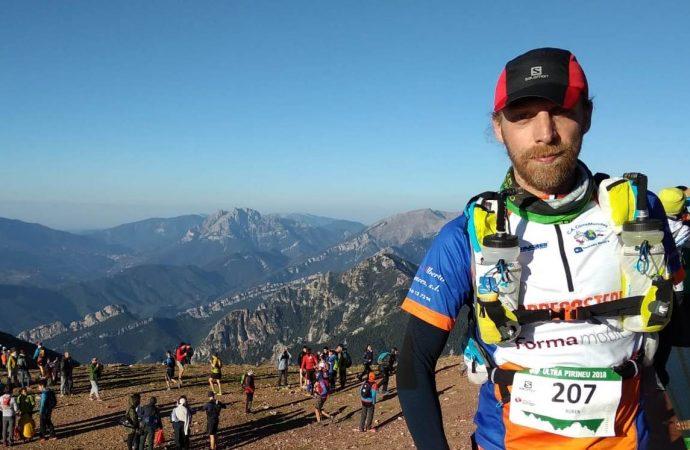 El corredor Ruben Brackez completa los 110 km de la X Salomon Ultra Pirineu