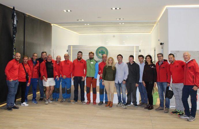Diego Cabrera se convierte en el official partner de la Perimetral Benissa