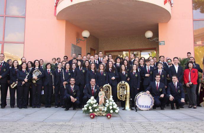 Los músicos de Teulada y Benissa celebran Santa Cecilia